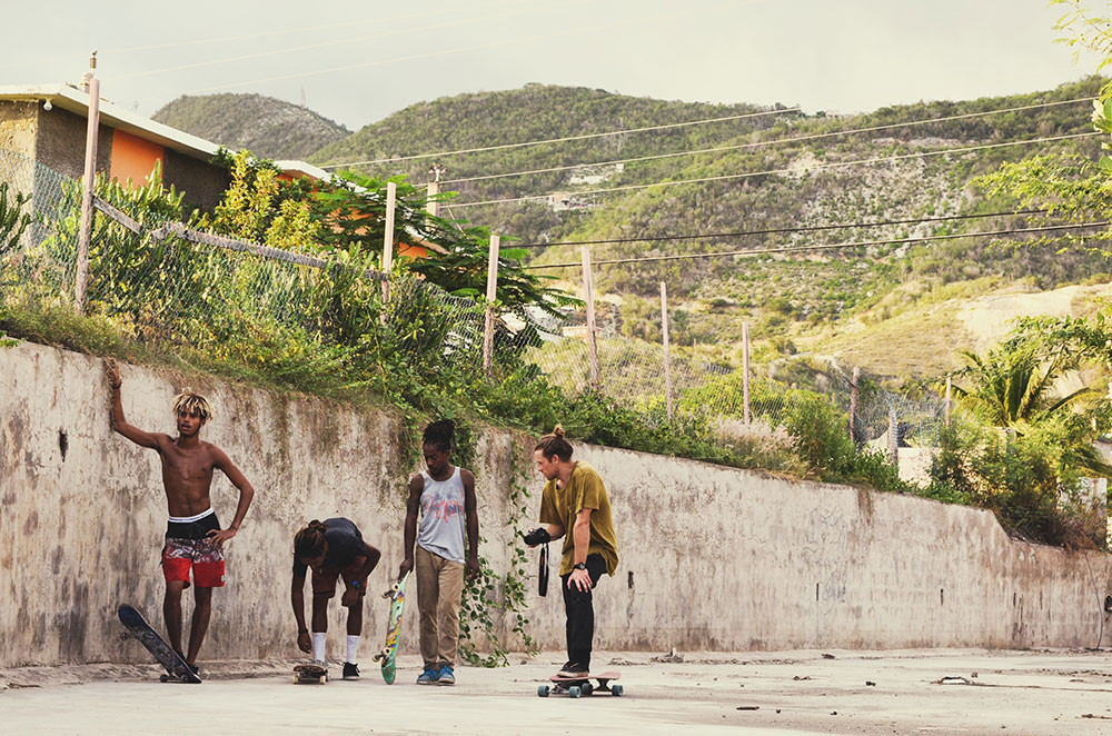 Will filming Ja Skate, Kingston Jamaica