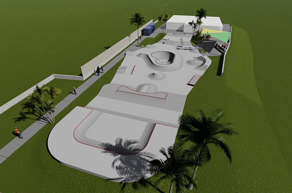 Kingston Skatepark Design