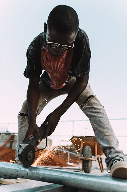 CJF Angola Beneficiary Welding